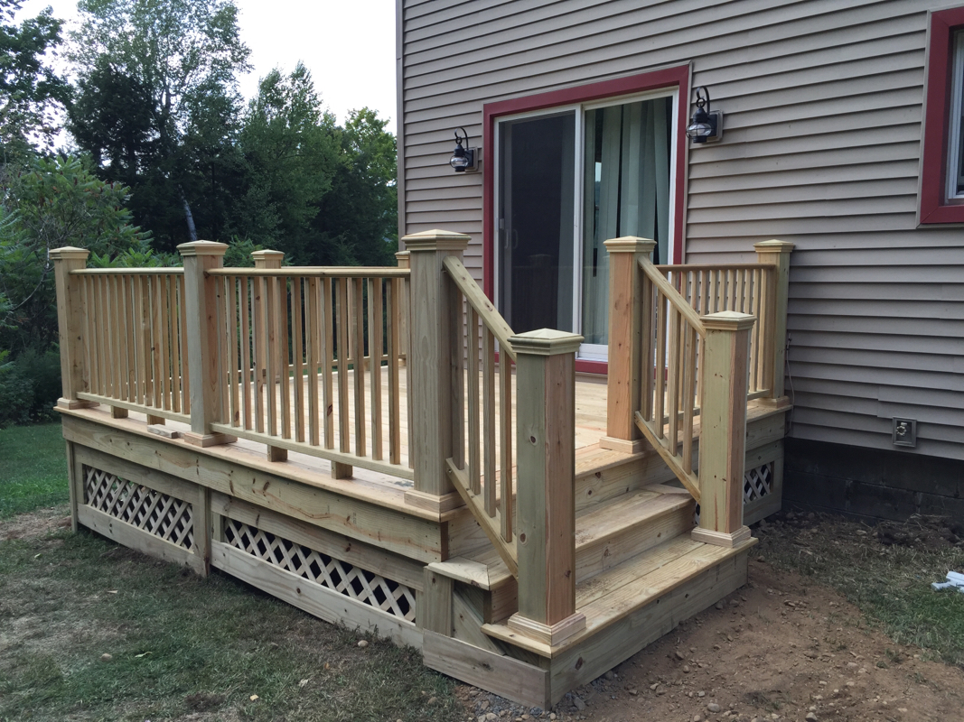 Replacement Deck Dan Dewolf Masonry And Contracting